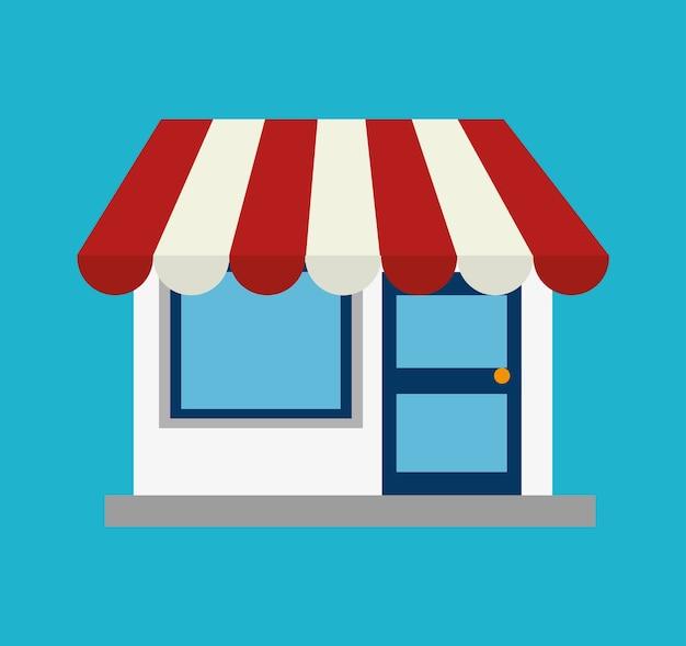 Shopping design. Premium Vector
