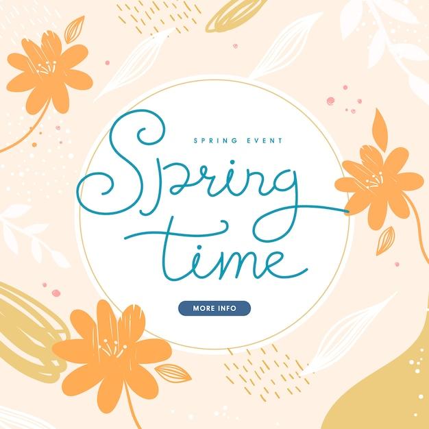 Shopping  illustration .tropic covers set. spring season patterns . Premium Vector