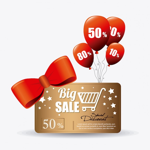 Shopping special offers, discounts and promotions Free Vector