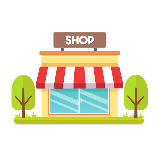 Картинки мультяшного магазина