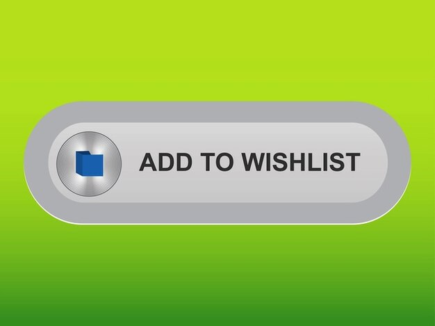 Shopping website wish list button vector free download for Check online shopping website