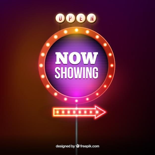 Show Banner Vector Free Download