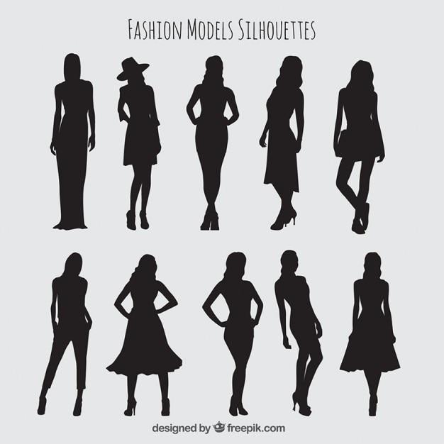 سایه ها مجموعه ای از مدل های زیبا