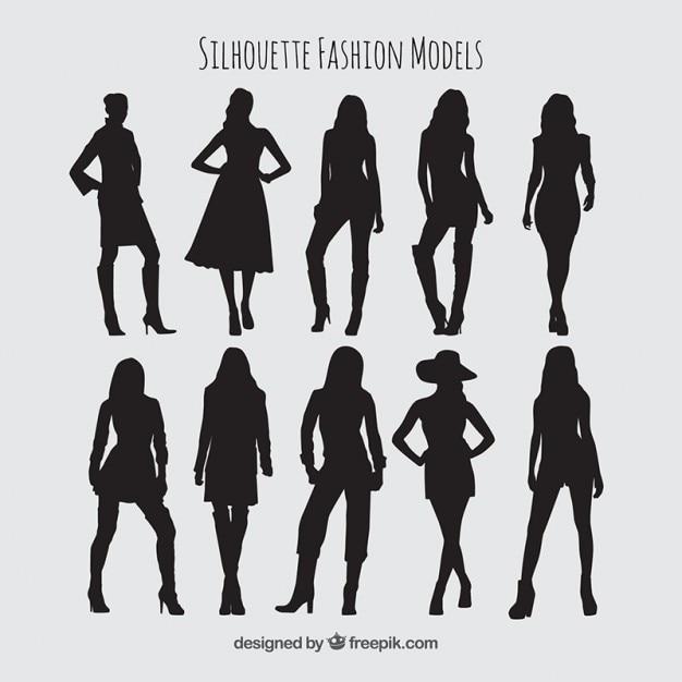 fashion silhouette description - 626×626