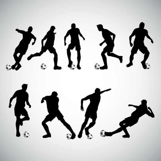 سایه ها از بازیکنان فوتبال ناز