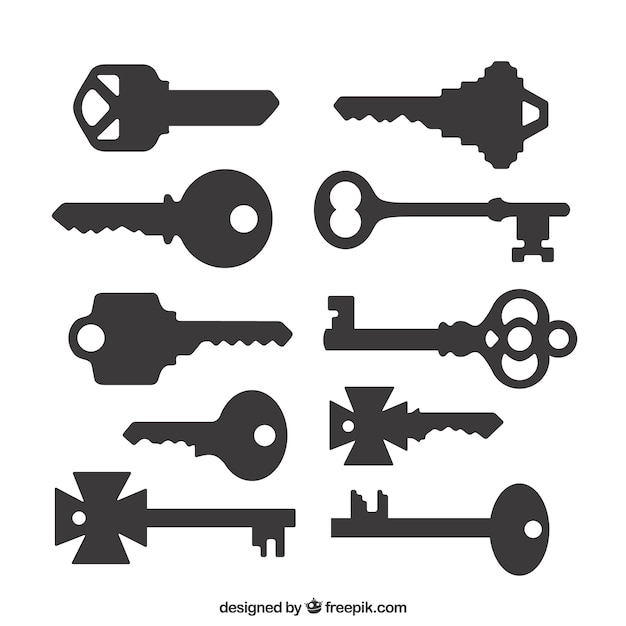 Key Silhouette Vectors, Photos and PSD files | Free Download