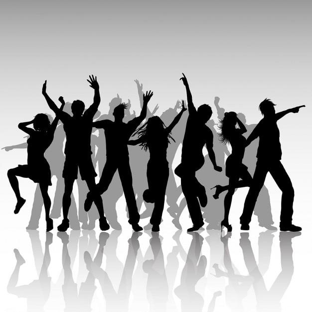 سایه ها از حزب مردم رقص