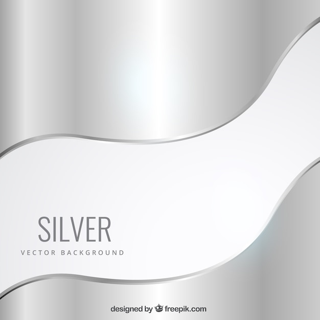 silver background vector free download