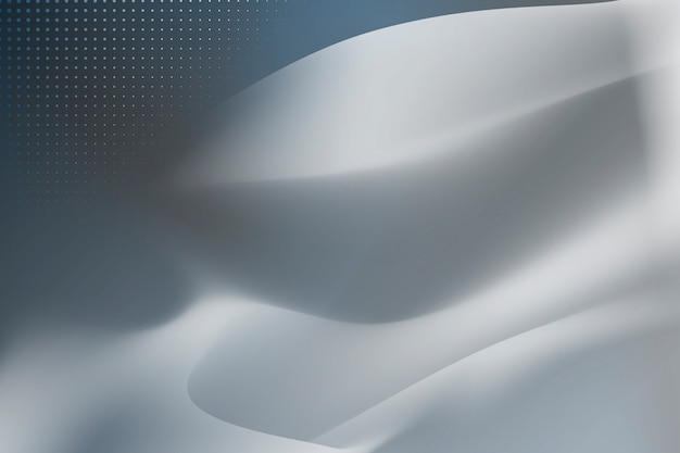 Silver flow background Free Vector