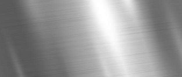 銀の金属のテクスチャ背景 Premiumベクター