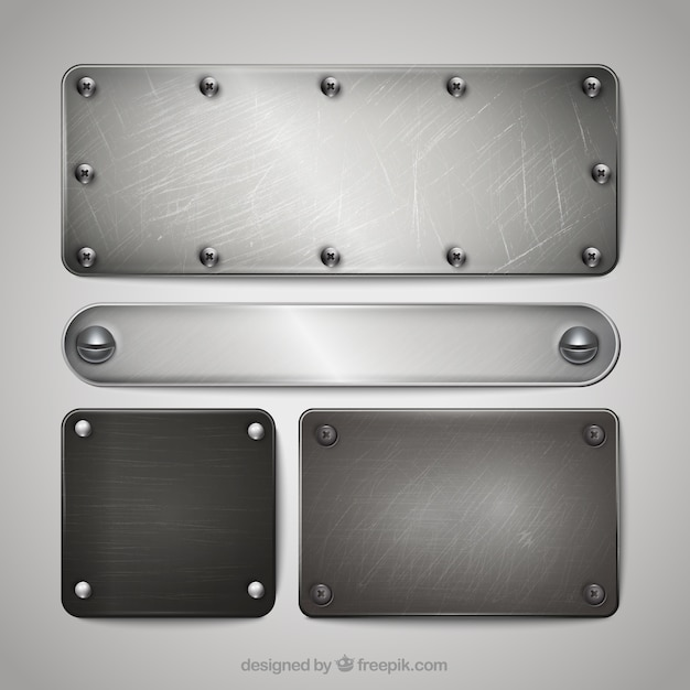 metal plate vectors photos and psd files free download. Black Bedroom Furniture Sets. Home Design Ideas