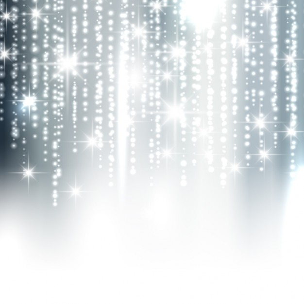 Silver sparkle background Free Vector