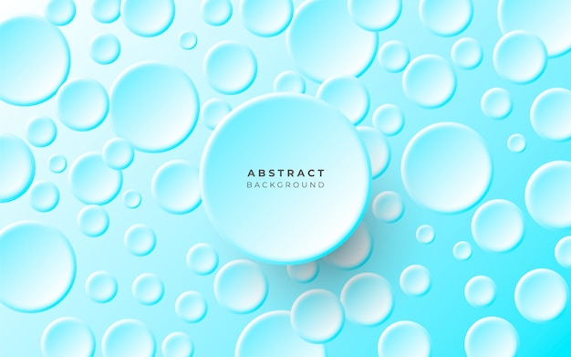 Free Vector Simple Abstract Background With Circles