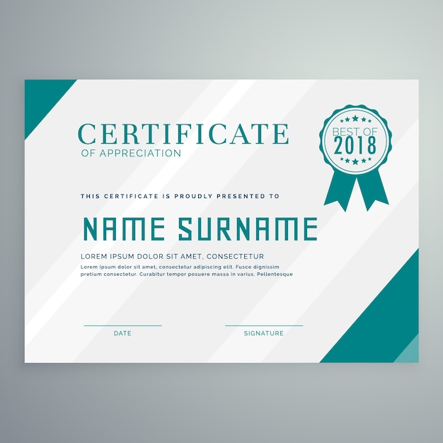 Simple achievement certificate template vector free download simple achievement certificate template free vector yadclub Gallery