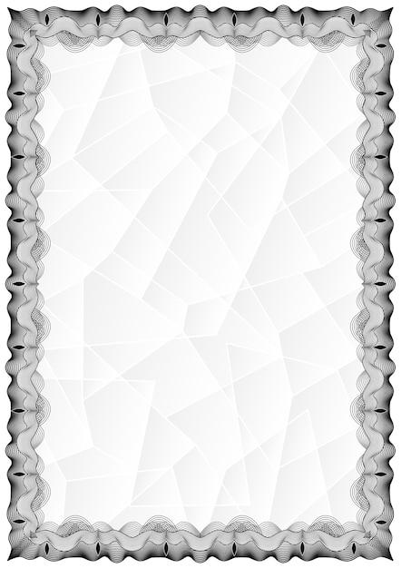 Free Certificate Border Vector Download - Alternative Clipart Design •
