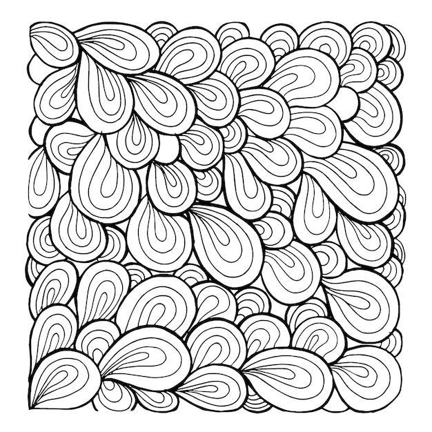 Line Drawing Vector Free : Simple black and white patterns backgrounds vector free