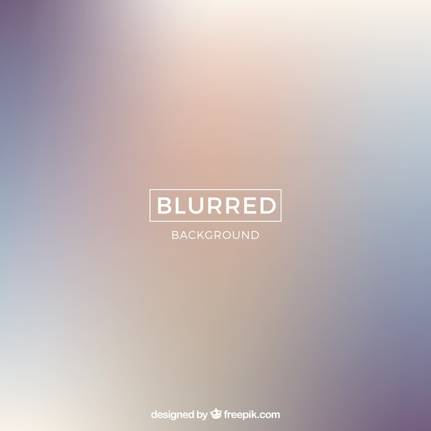 Simple blurred background Free Vector