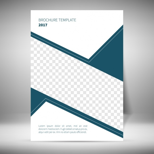 Simple Brochure Template Vector Free Download Create A Trifold
