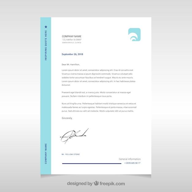 Simple corporate brochure