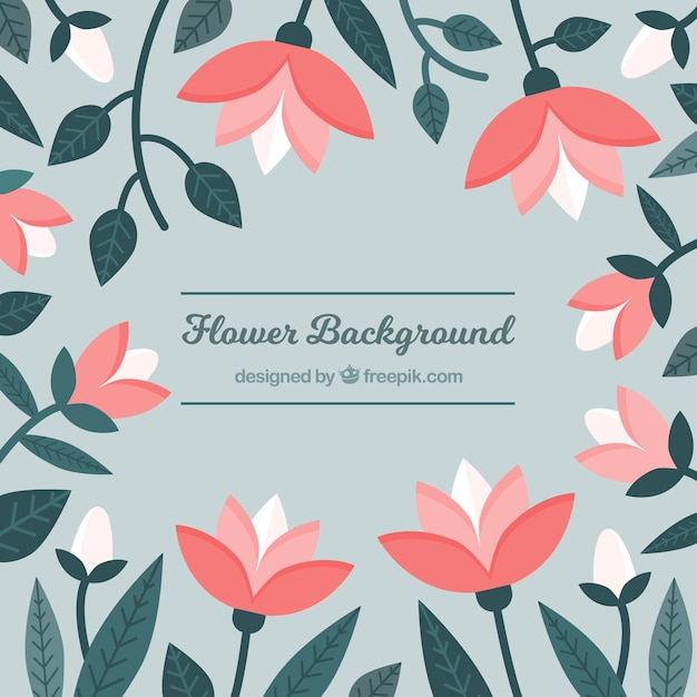 Simple Flower Background Designs - Flowers Healthy