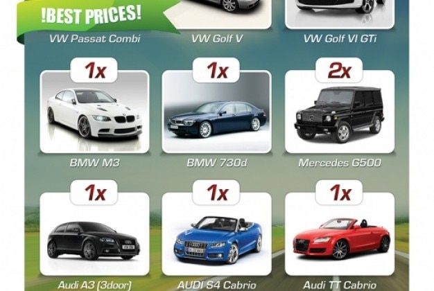 Simple flyer car rental company Vector – Car Flyers