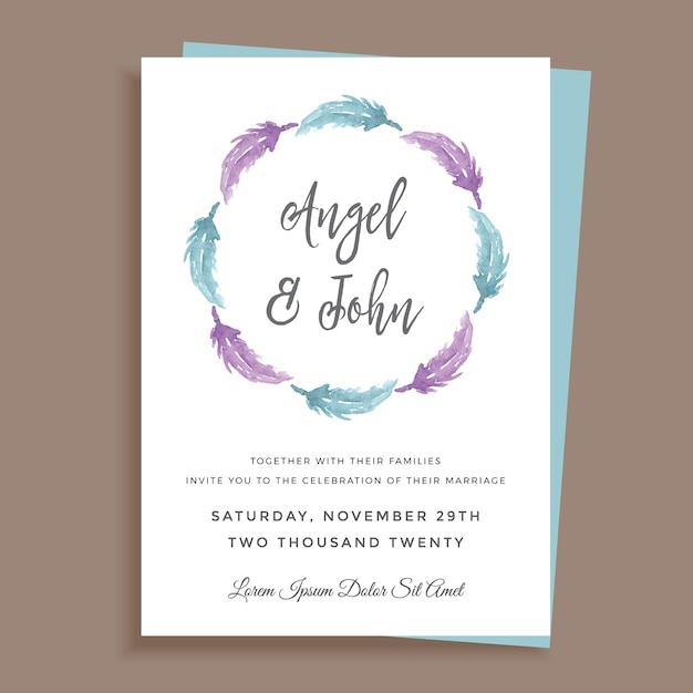 Simple minimalist wedding invitation design vector premium download simple minimalist wedding invitation design premium vector stopboris Images