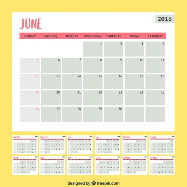 Calendar Planner Vector Free : Simple monthly planner vector free download