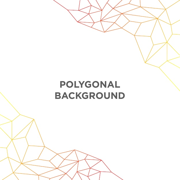Simple polygonal background Free Vector