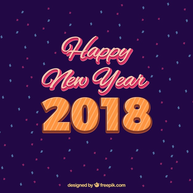 simple purple new year background with confetti stock images page everypixel