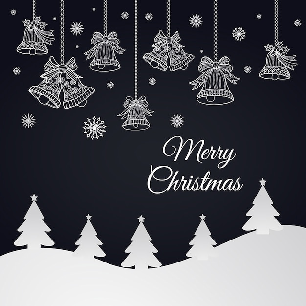 Simple vector christmas backgrounds Free Vector