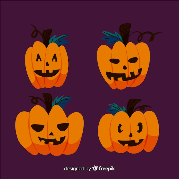Halloween Pumpkin Drawing Picture.Simplistic Drawing Of Halloween Pumpkin Vector Free Download