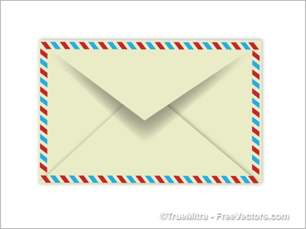 Single confidential envelope vector Free Vector