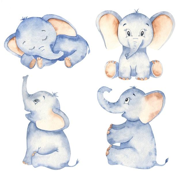 22+ Sitting Cartoon Elephant Pics