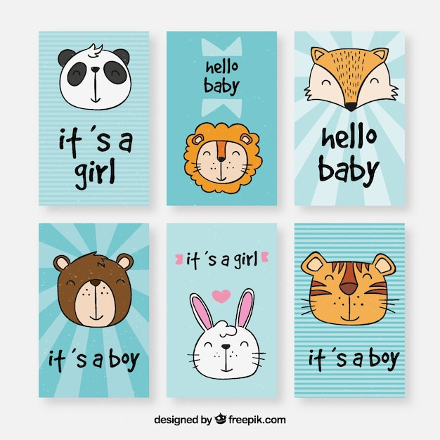six blue welcome baby card templates stock images page everypixel