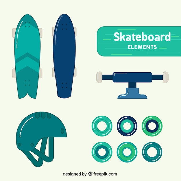 Skateboard equipment