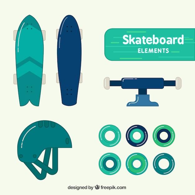 Skateboard equipment