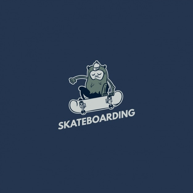 Skateboard logo