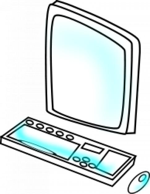 Sketch Personal Computer Vector Vector Free Download