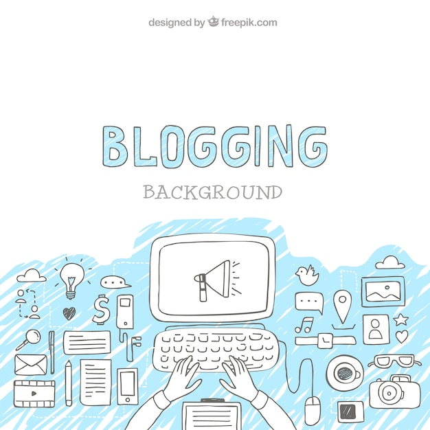 blogging. sumber:freepik.com
