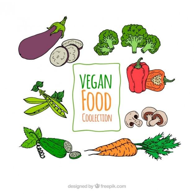 طرح مجموعه های سبزیجات