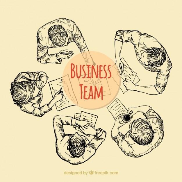 Sketchy business team