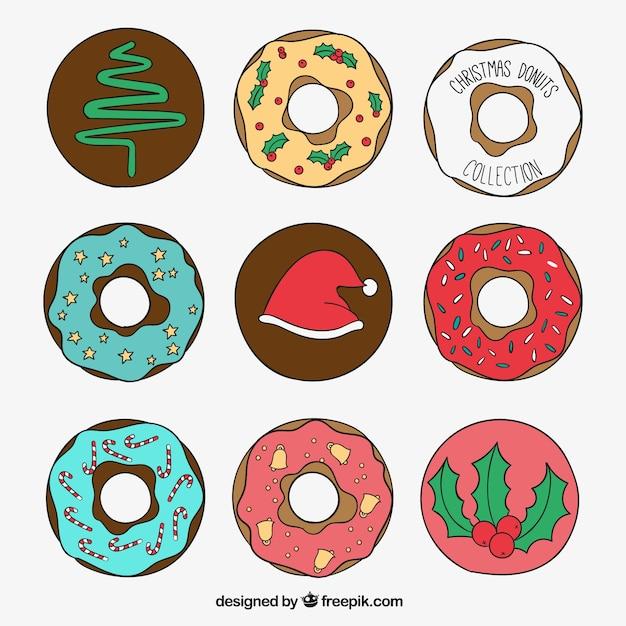 Пончики мультяшные
