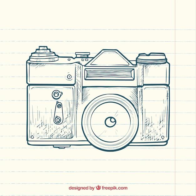 Sketchy photography camera