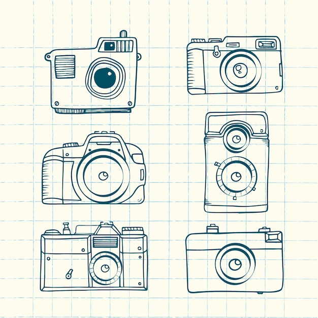 Sketchy photography cameras