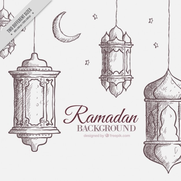 sketchy-ramadan-background_23-2147552424.jpg (626×626)