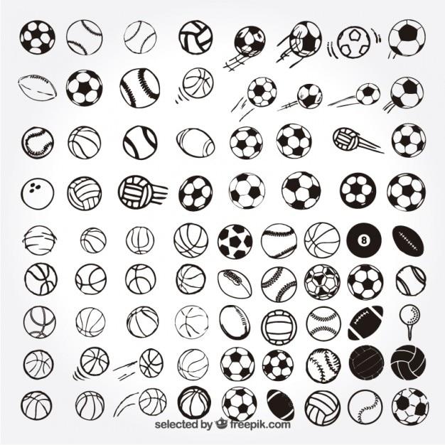 Sketchy sport balls