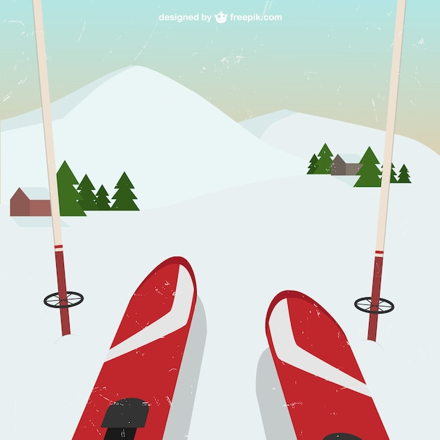Skiing perspective