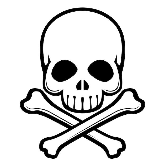 skull and crossbones small vector premium download rh freepik com skull and crossbones vector image cute skull and crossbones vector