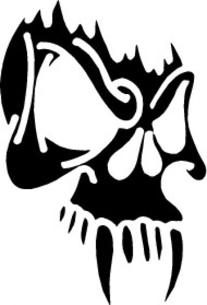 skull mask vector free download rh freepik com Gold Skull Mask Skull Gas Mask