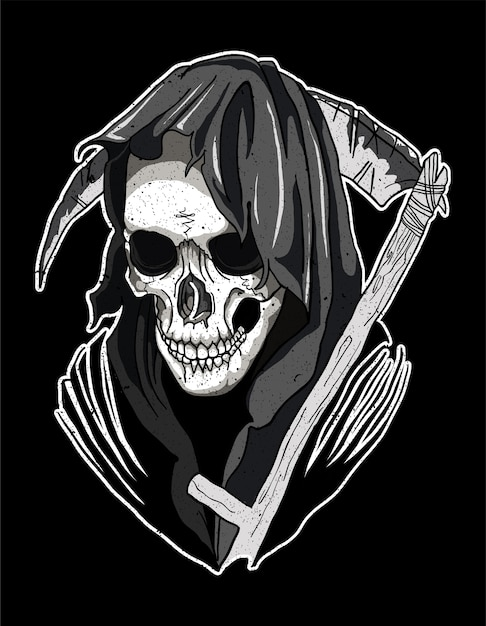 Skull Santa Muerte Vector Premium Download